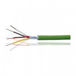 Rollo de 100m cable Bus 2x2x0,8mm Libre de Halogenos