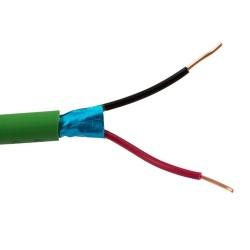 Rollo de 100m cable Bus 1x2x0,8mm Libre de Halogenos