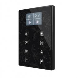 Panel Capacitivo de 8 botones y display (modelo ONE). Marco policarbonato - Personalizado