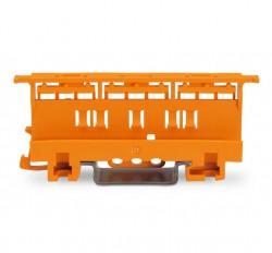 Caja 10 uds. adaptador de fijación 4mm carril DIN