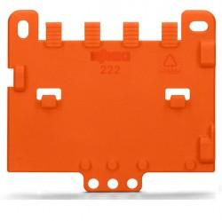 Caja de 10 uds. de placa antitirón naranja