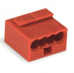 Caja 100 uds. Microborna roja 4 x 0,6-0,8
