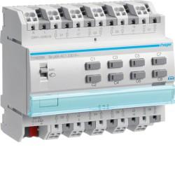 Actuador de persianas enrollables, 8 canales, 230V AC, 6A