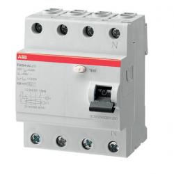Interruptor diferencial FH204AC-25/0,03 4p