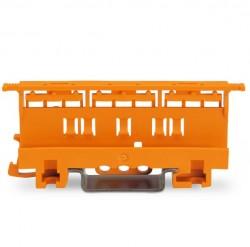 Caja 10 uds. adaptador de fijación a carril 221 (6mm)