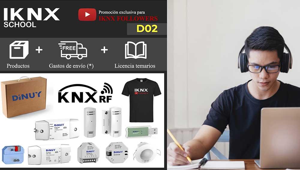 Kit KNX RF Dinuy D02