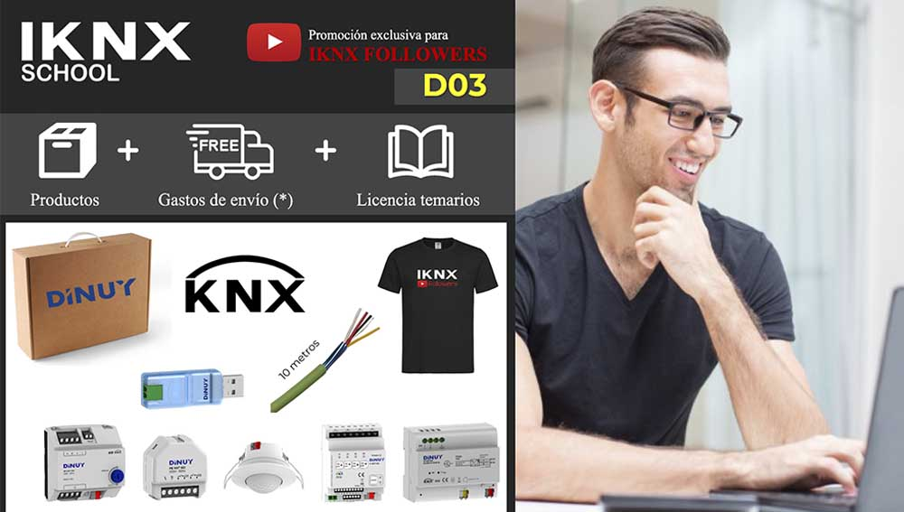 Kit KNX RF Dinuy D03