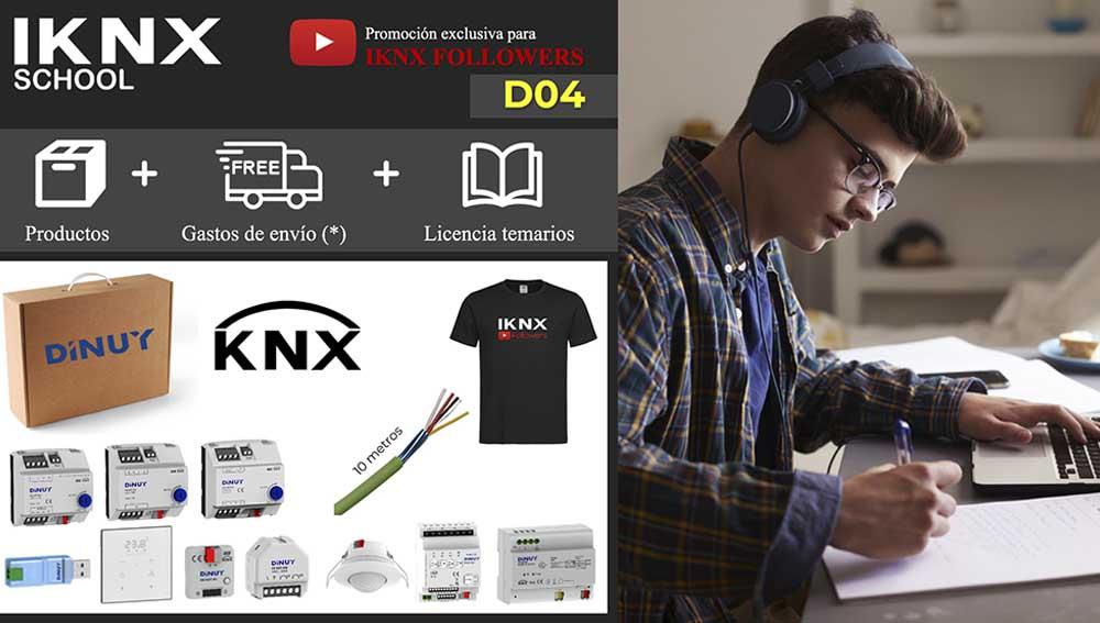 Kit KNX RF Dinuy D04